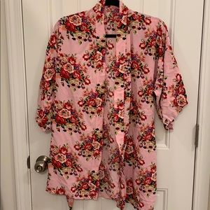 Other - Pink Floral Robe